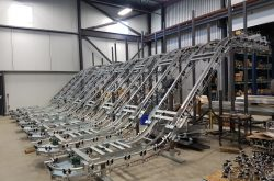 BIG WAREHOUSE INSTALLATION FOR 32 CONVEYORS