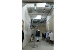 GARMENT CONVEYOR INSTALLATION AT LAURIER DRY CLEANERS