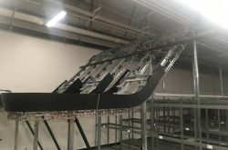INSTALLATION OF 6 MULTI-PLAN GARMENT CONVEYORS IN CALIFORNIA