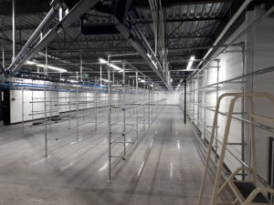 Successful V-Rail and Static Racking Solution for Aubainerie