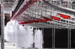 Automatic Garment Sorter for CITY Laundering in Iowa, USA